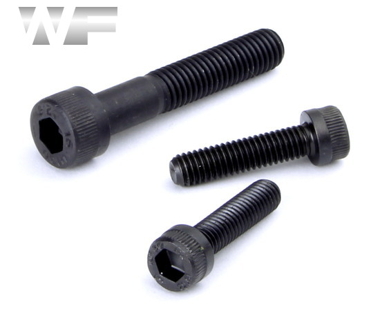 Unbrako Socket Head Cap (Allen) Screw Full Thread M20 x 55mm in Black